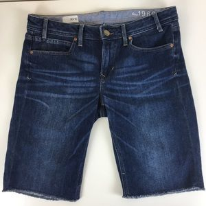 Gap Sophie Cut Off Bermuda Jean Shorts